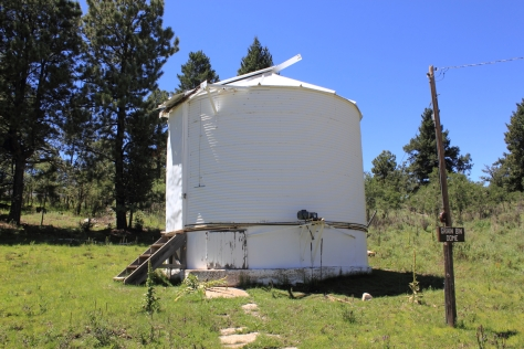 Grain Bin Dome Telescope, Sunspot, NM